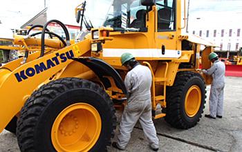 建設・産業機械・除雪機取り扱い